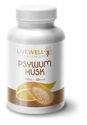 Live Well Psyllium Husk branded supplements wholesale